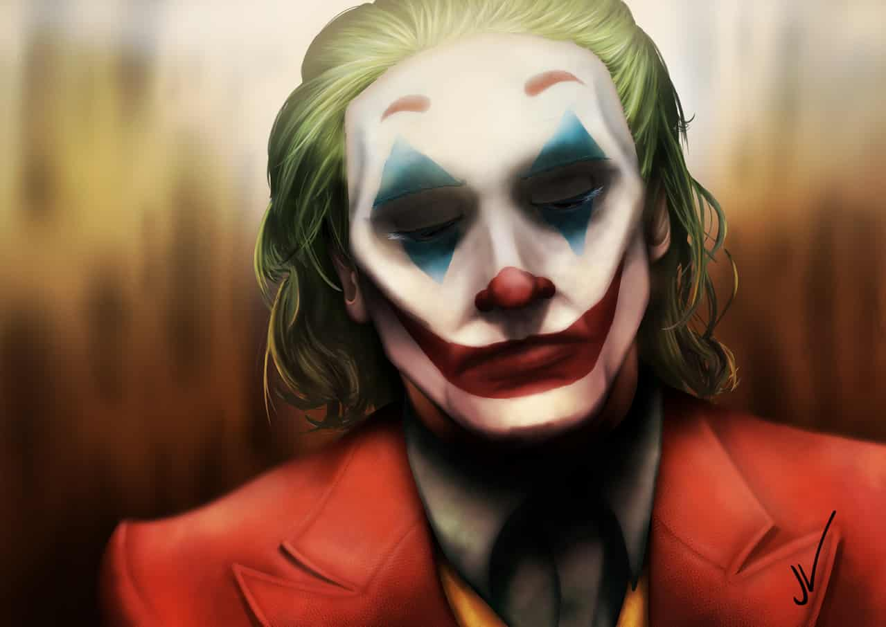 The depression of a clown Illust of KrZer0 medibangpaint