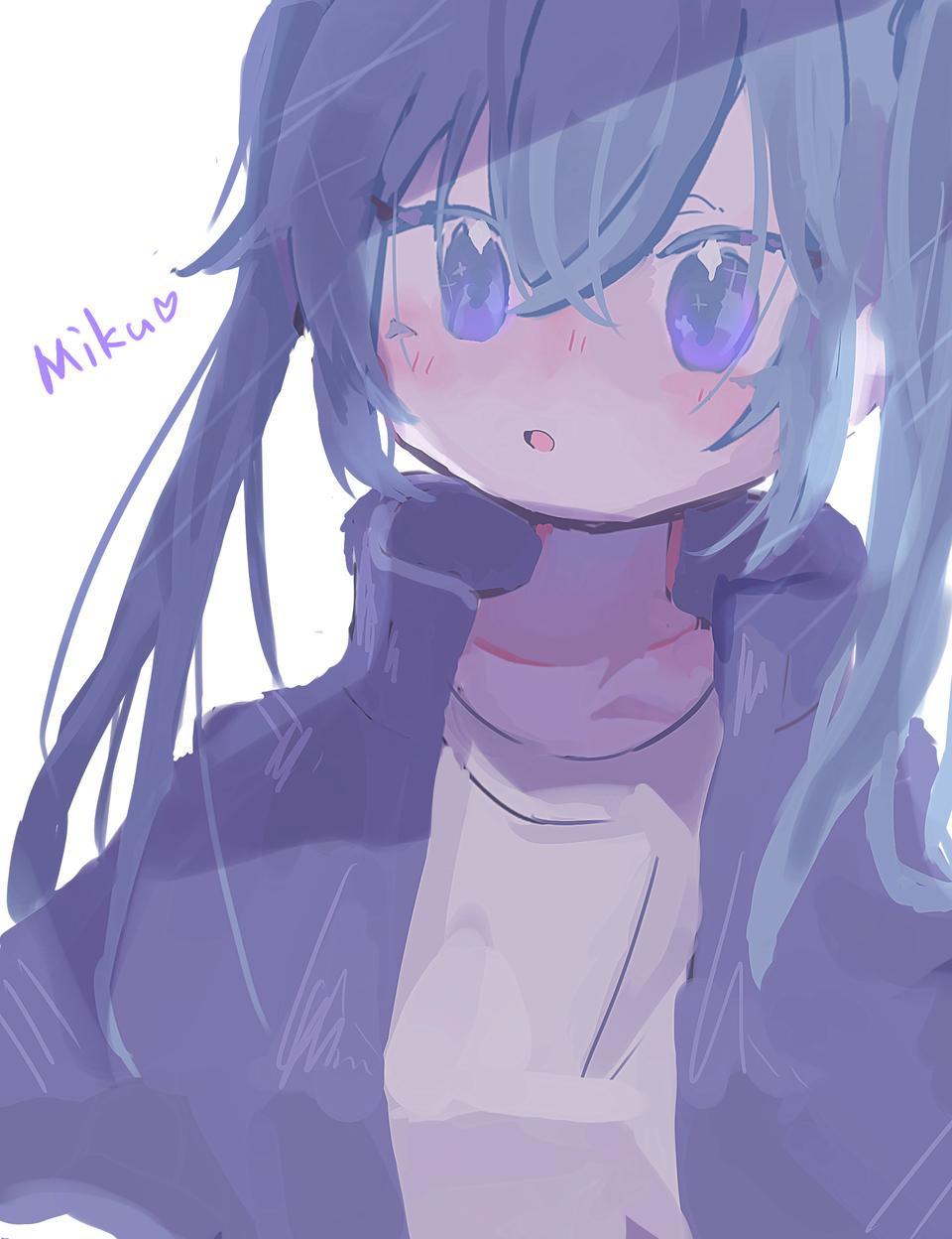 ミクちゃん Illust of くまた hatsunemiku VOCALOID