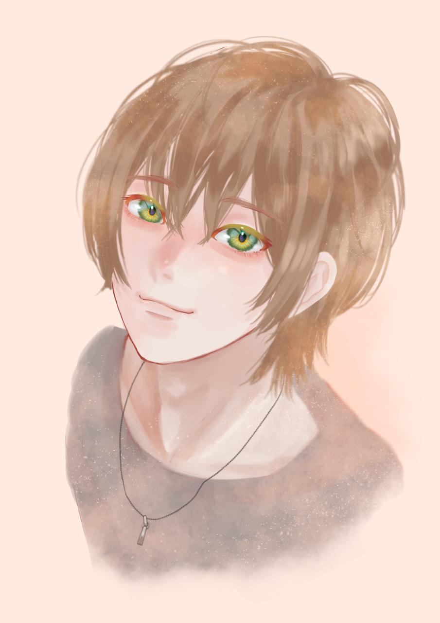 練習 Illust of FJ boy fanart StrawberryPrince オレンジ ジェルくん