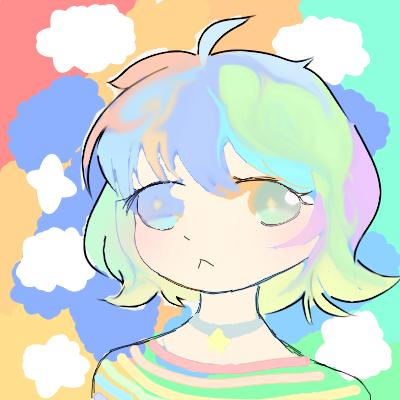 OTZ Illust of 霜白 medibangpaint rainbow