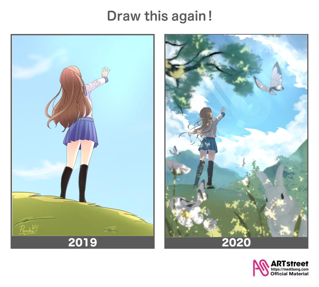 2019-2020 Illust of Aquaz.N DrawThisAgain