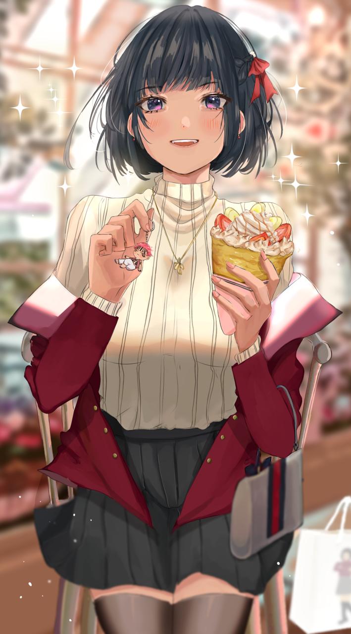 Getting Comfy with Tsuneko  Illust of flarechan cute art TsunekoInYourStyle Artwork red anime aesthetic animegirl