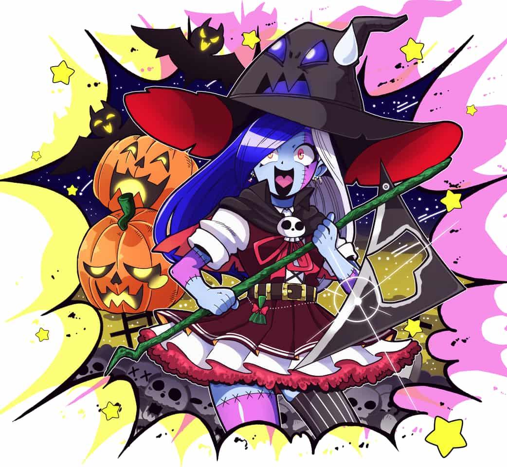 Happy Halloween‼️ Illust of Nametake Halloween witch ハロウィンイラスト girl