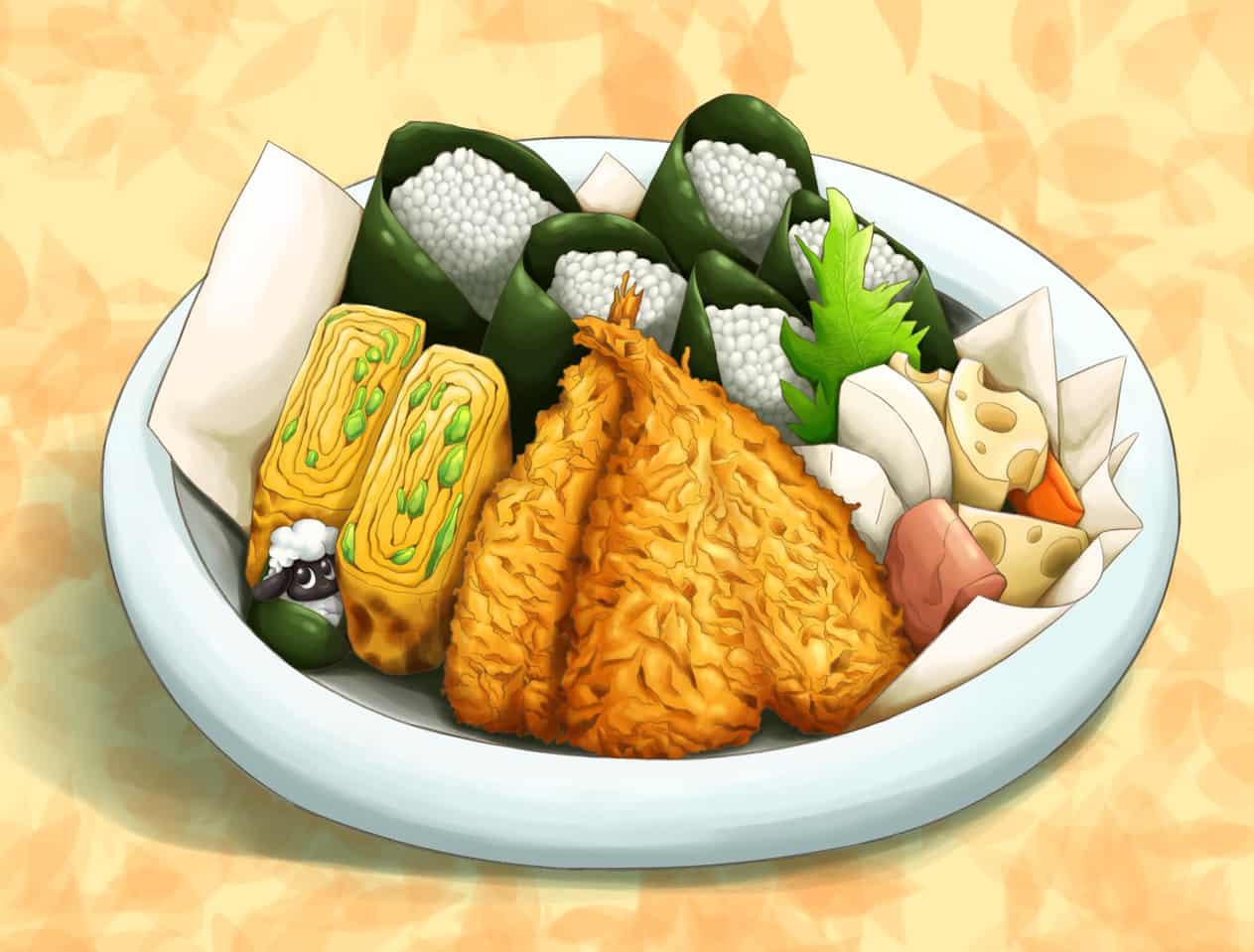 绵羊饭团 Illust of 猫雨 October2020_Contest:Food