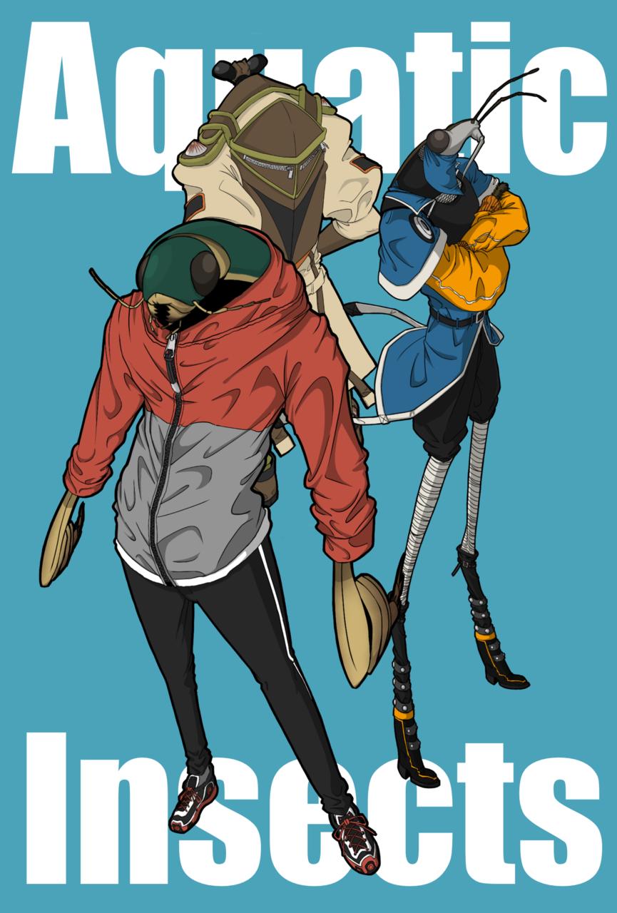 Bug's Illust of スド ウイナロ oc 人外 insect original