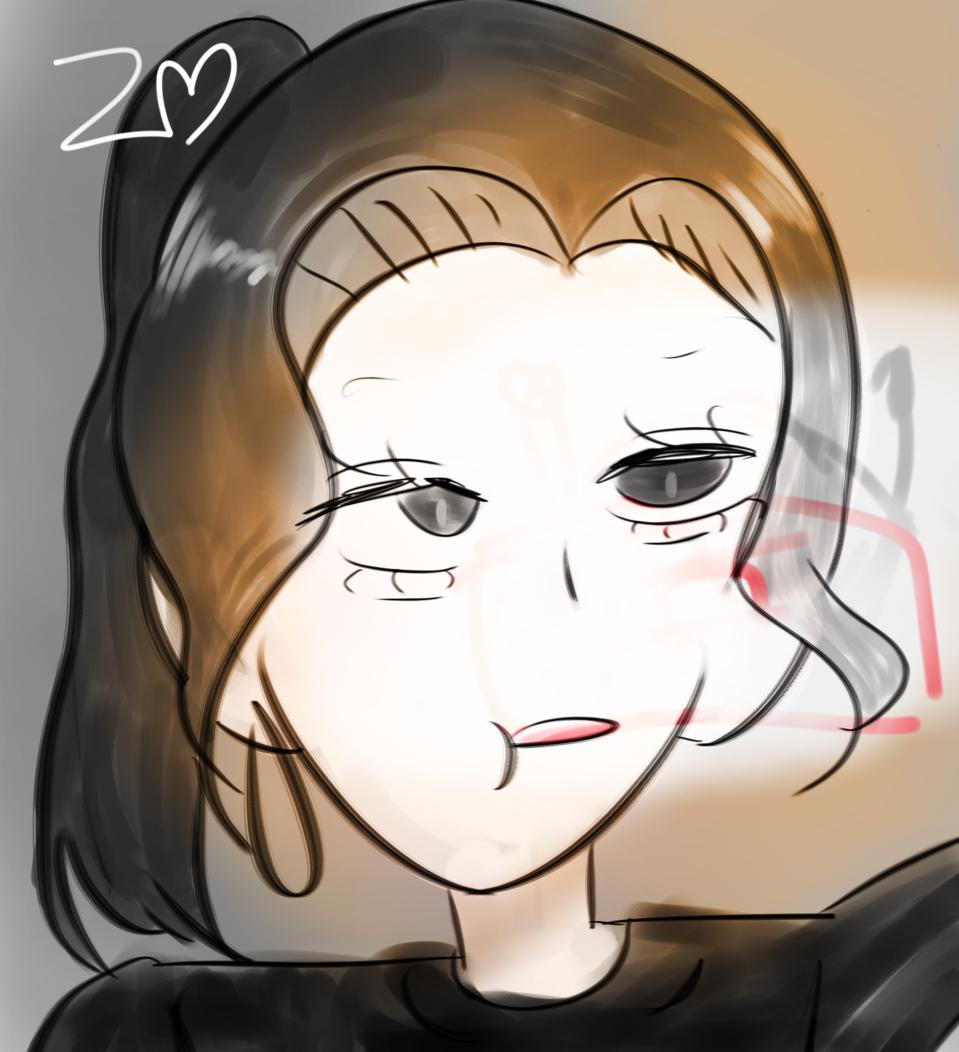 160팔 🙏🏻🙏🏻❤❤ Illust of 나랑🎀토픽보세요 medibangpaint self-portrait