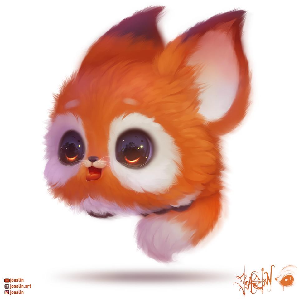 Bouncy Furry Ball 🦊🏀❤️/JoAsLiN