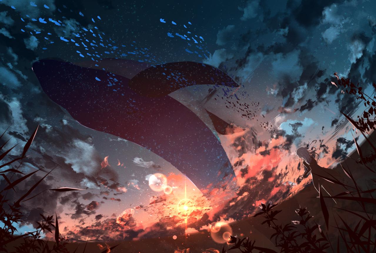 夕焼け水族館 Illust of ツチヤ ARTstreet_Ranking sunset scenery