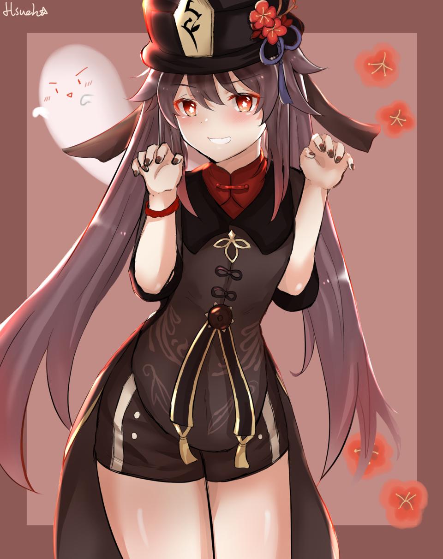 胡桃 Illust of Hsueh medibangpaint girl 胡桃 Girls game GenshinImpact