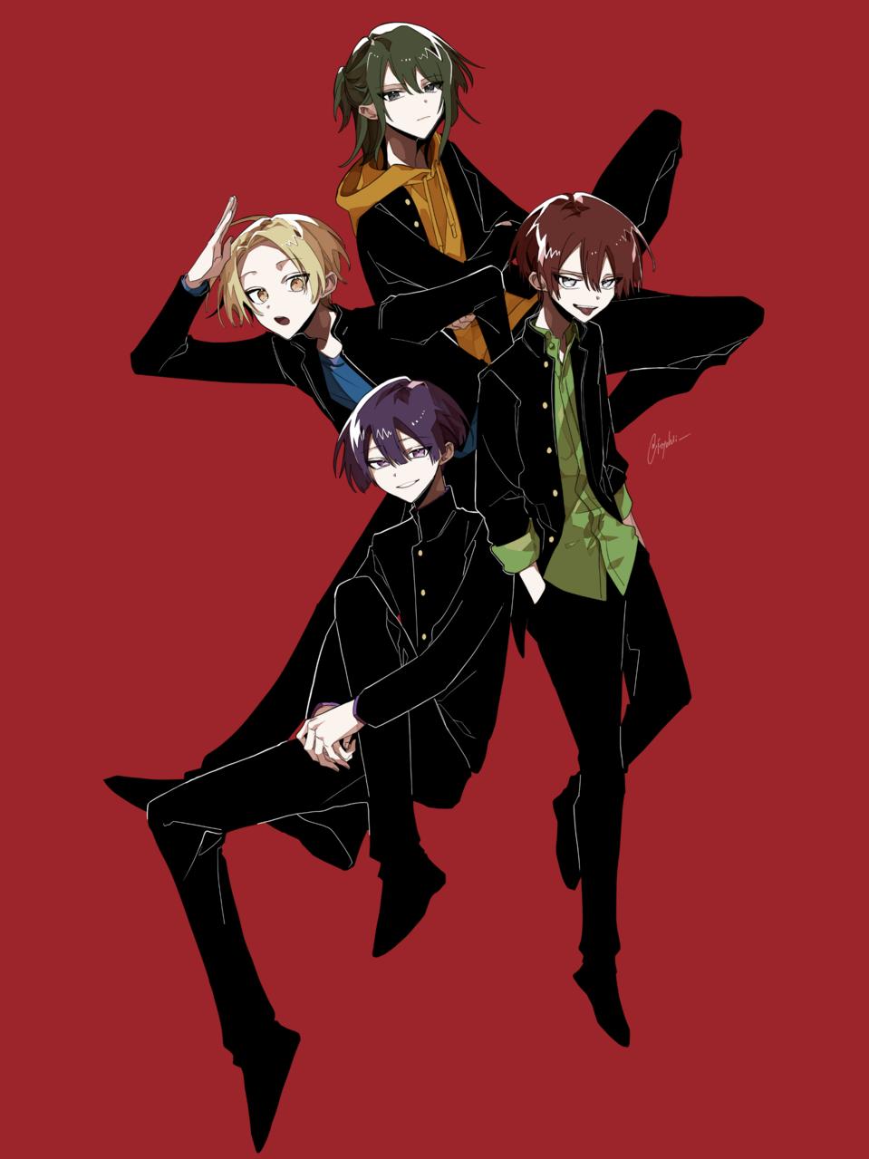 Illust of もと boy art oc original オリジナル創作