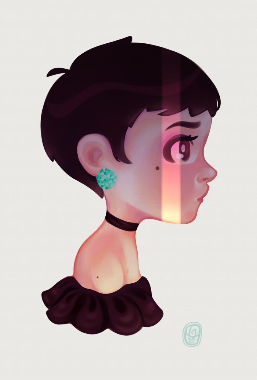 A bit of color ✨ Illust of Onali April.2020Contest:Color ARTstreet_Ranking illustration girl animegirl digital art drawing Drawings kawaii cute