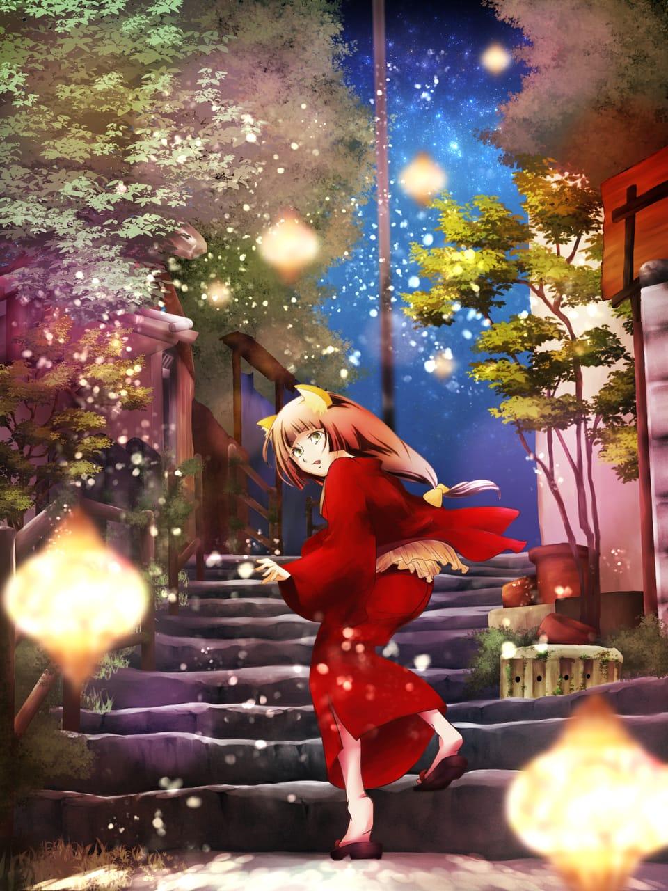 尾道 Illust of ゆきとも February2021_Fantasy Japanese_style
