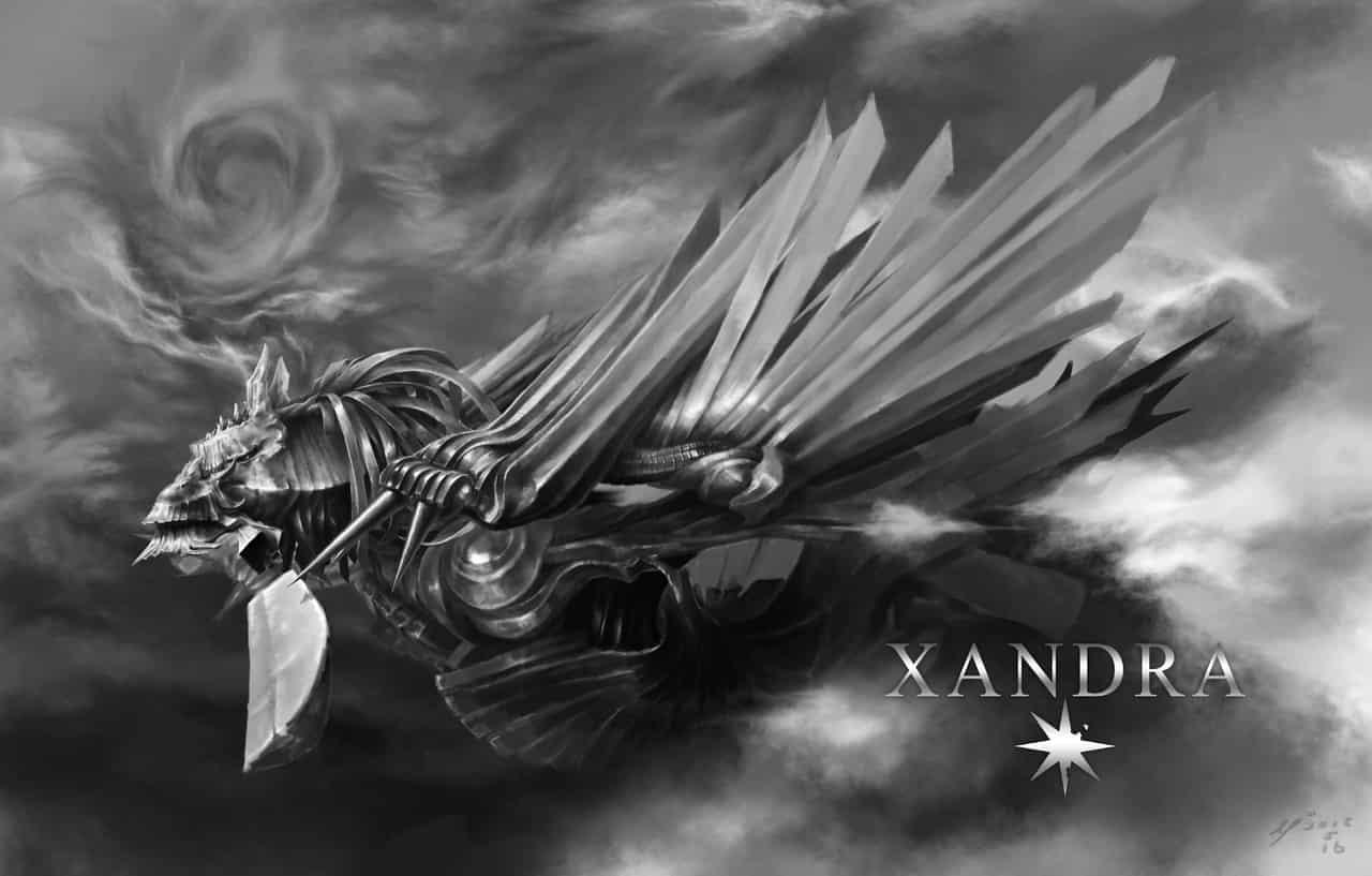 XANDRA Illust of Umekawa medibangpaint impasto 奇幻 dragon