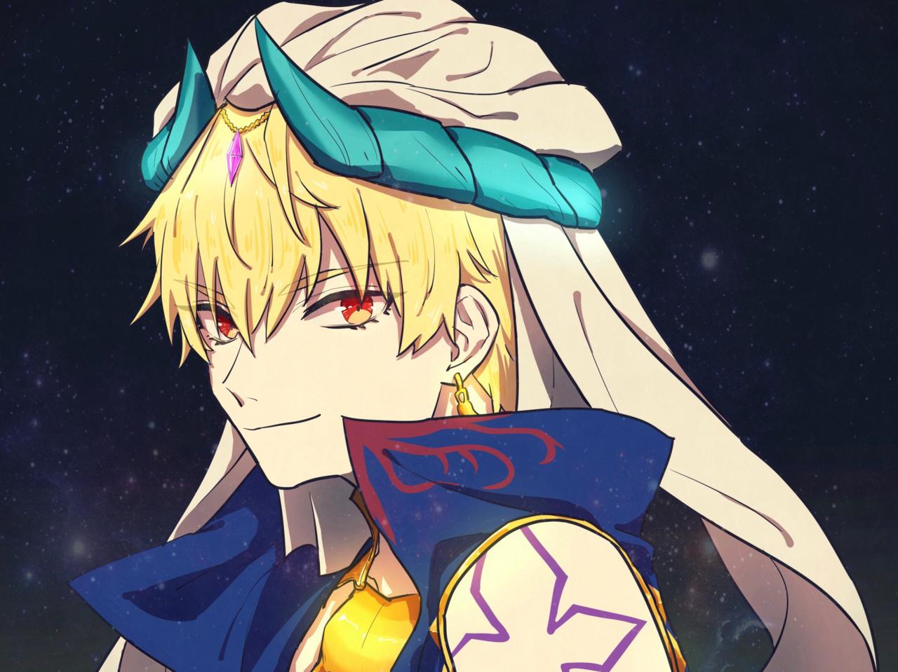 キャスギル Illust of chez Fate/GrandOrder ギルガメッシュ(Fate)