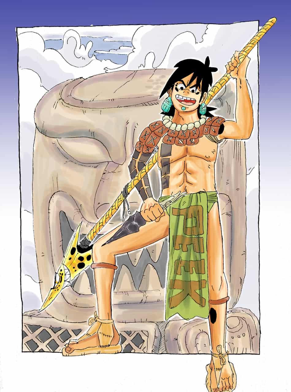 Kin estela Jaguar  Illust of CJ maya caricature
