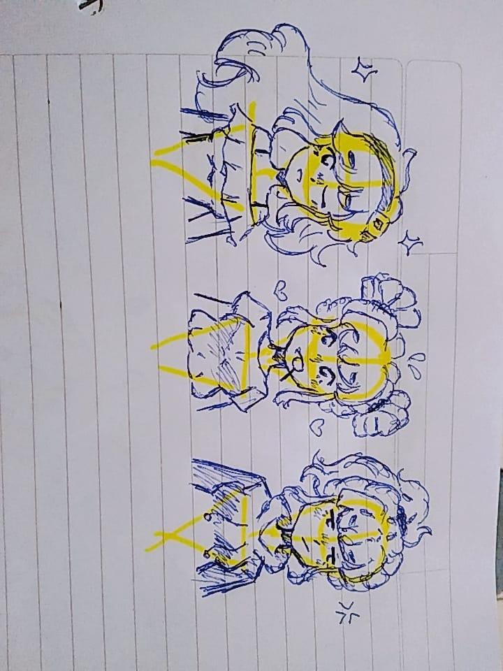 Sketchs randoms xd Illust of ↝Eli!✩ random sketch Noc uwu Leon oc Xd Eli