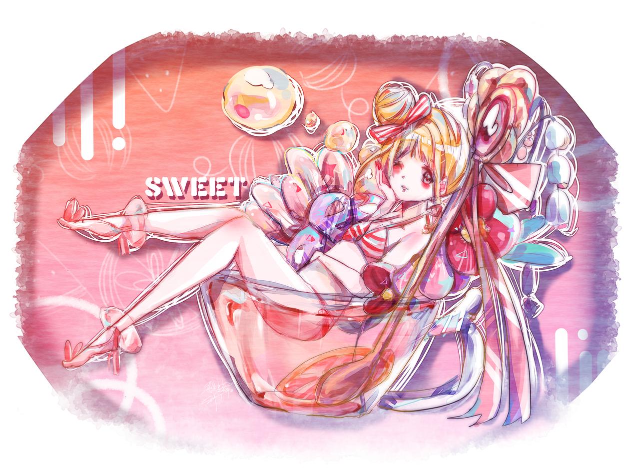水果茶少女