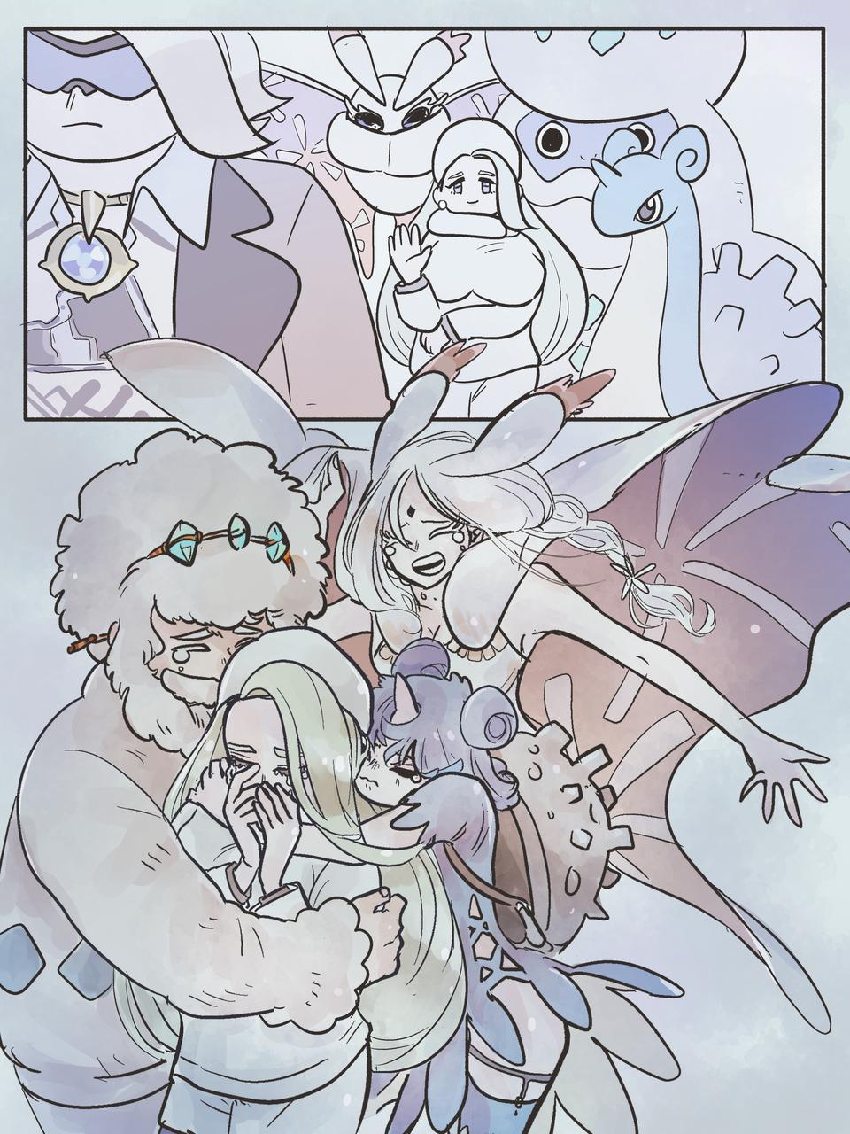 Illust of 塩ながす medibangpaint PokémonSwordandShield メロン(ポケモン) pokemon-gijinka