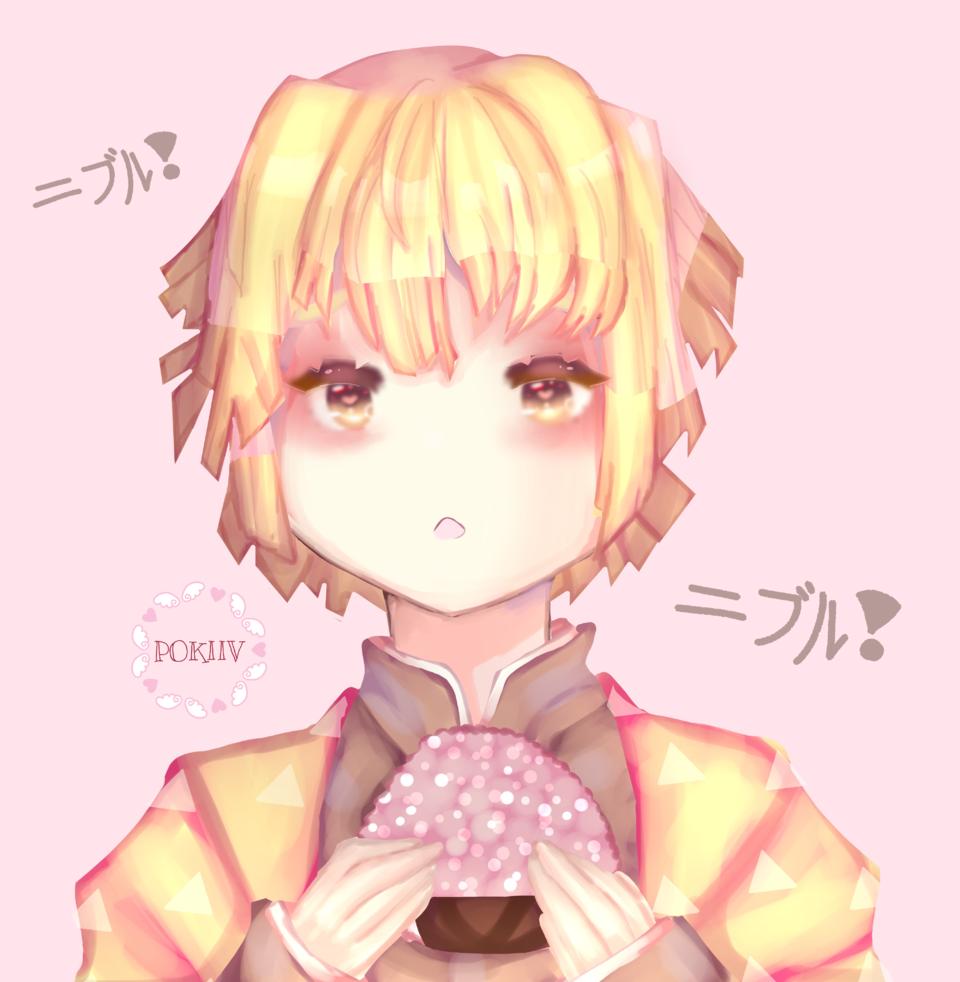 ニブル!  ZENITSU (KNY) Illust of pokiiv KimetsunoYaiba anime AgatsumaZenitsu boy