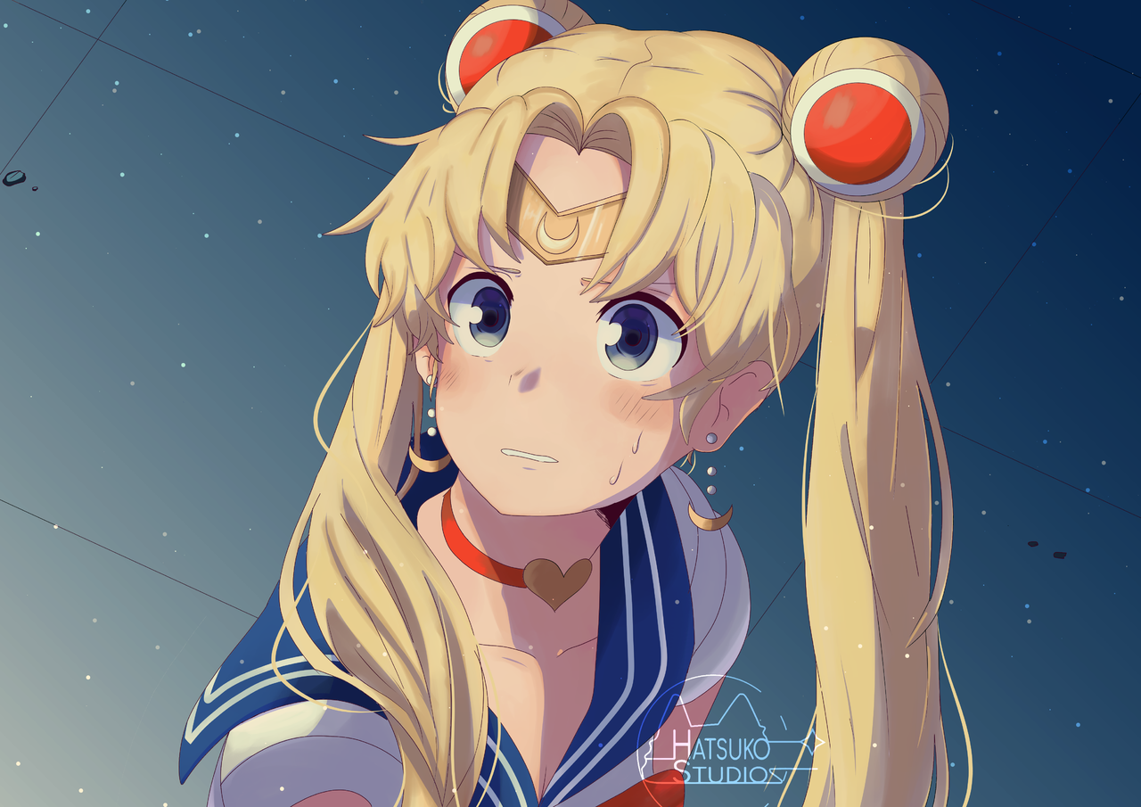 Sailor Moon🌙✨ Illust of Hatsuko San medibangpaint PrettyGuardianSailorMoon anime animefanart sailormoonredraw