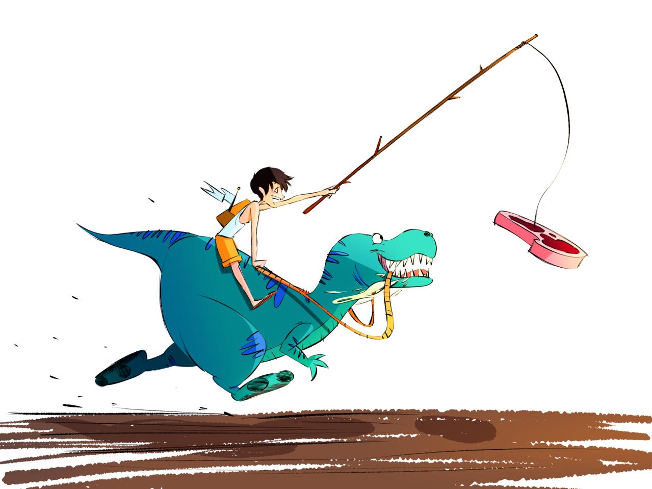 Roy and Pop Coloured! Illust of Akio medibangpaint animation
