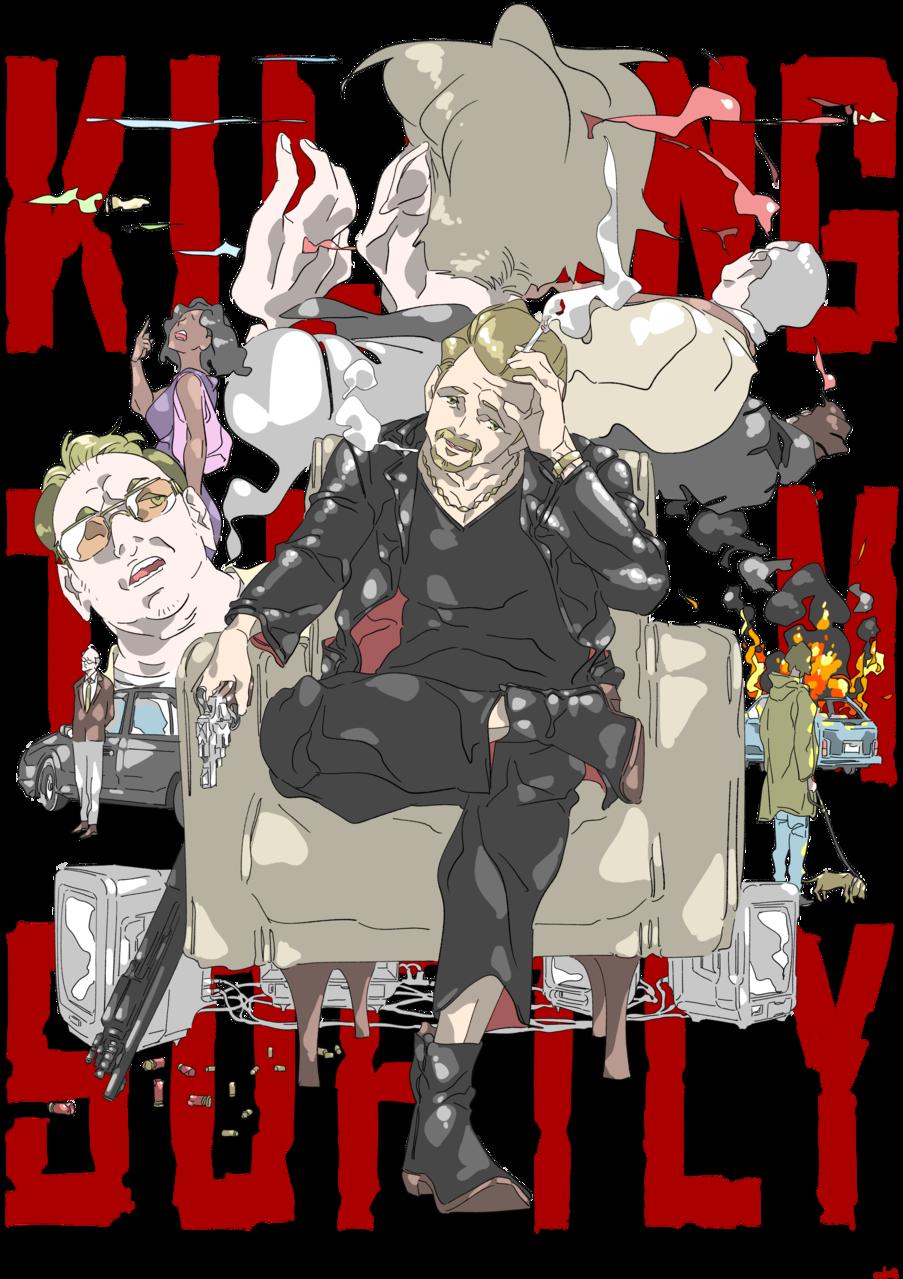 KILLING THEM SOFTLY Illust of oki medibangpaint movie