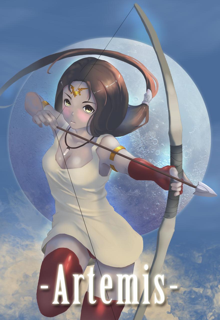 狩獵女神 Illust of 呆熊 ArtToPaper2017