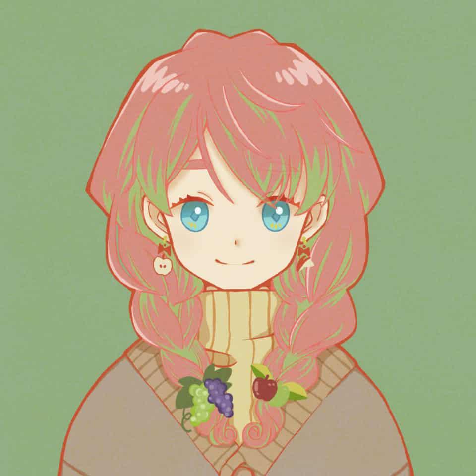 フリーアイコン Illust of 115alva freeprofilepic デジ絵 girl イラストレーション illustration みつあみ デジタルイラストレーション original