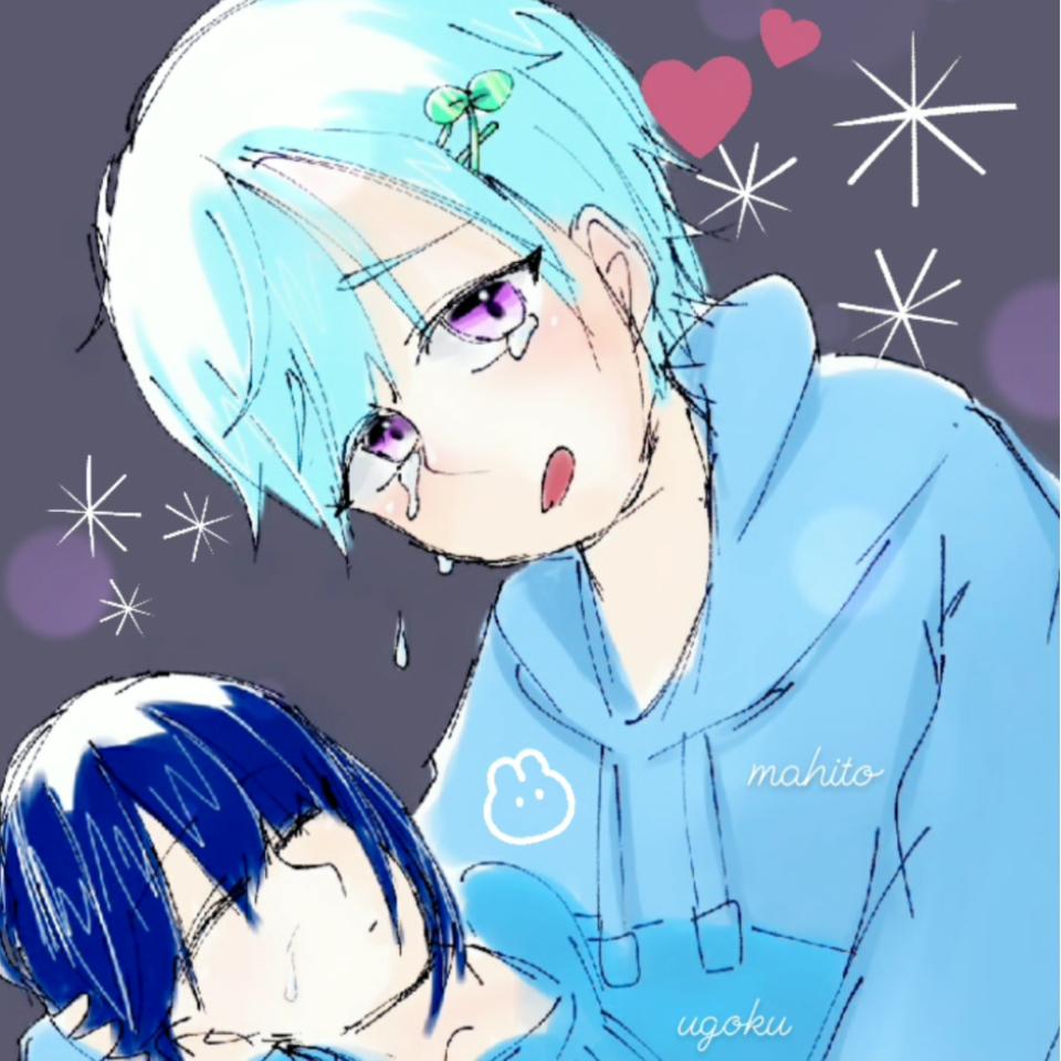 🥺🥺🥺 Illust of ぷいい໒꒱@逝きてる tears doodle まひと YouTuber sad うごくちゃん