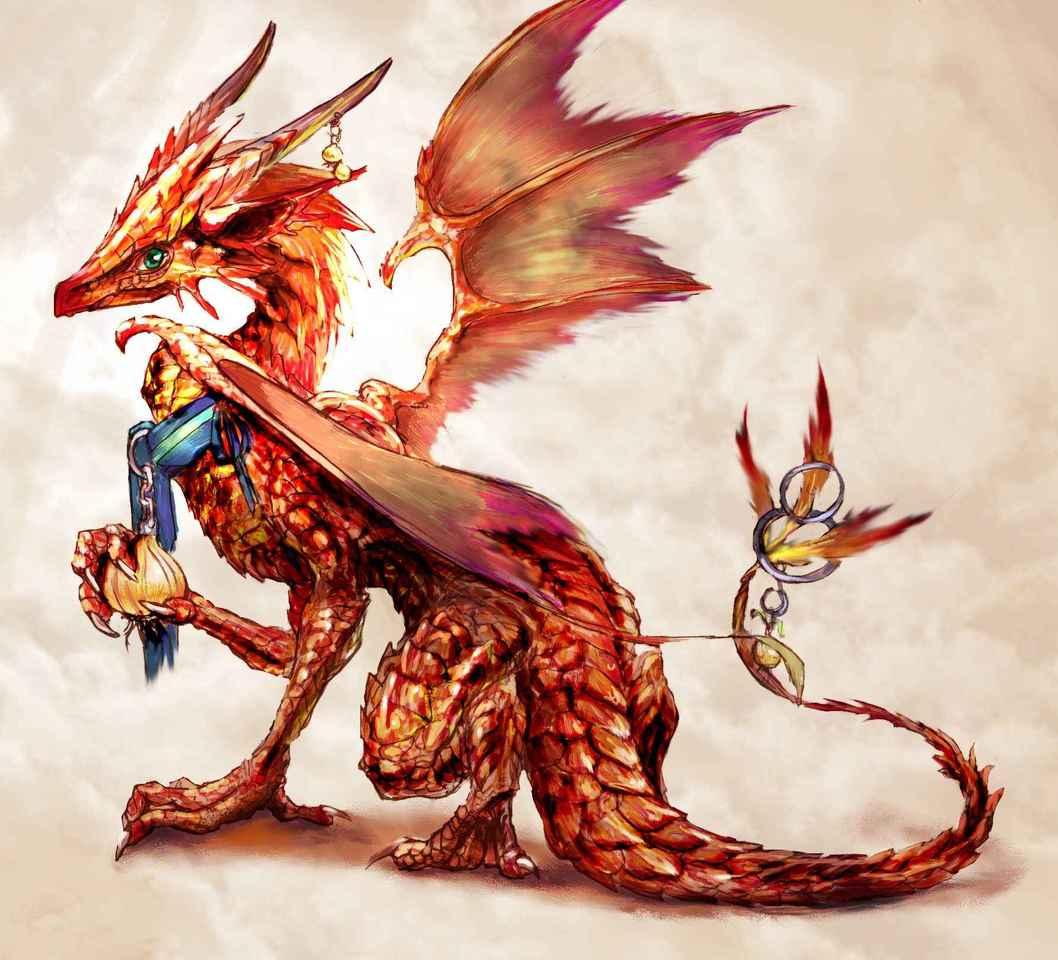 Illust of urascee monster dragon クリーチャー