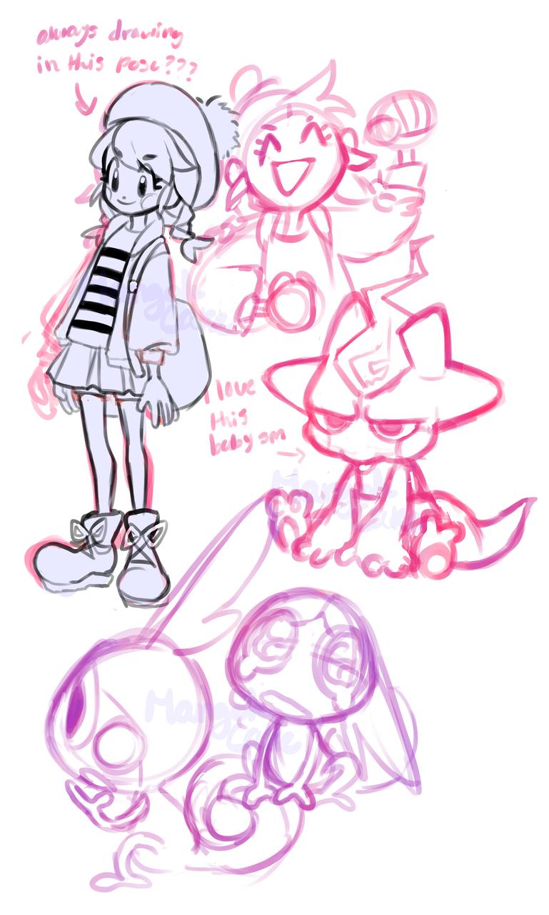 swsh doodles Illust of mangohCake Sobble medibangpaint pkmnswsh toxel pokemon PokémonSwordandShield
