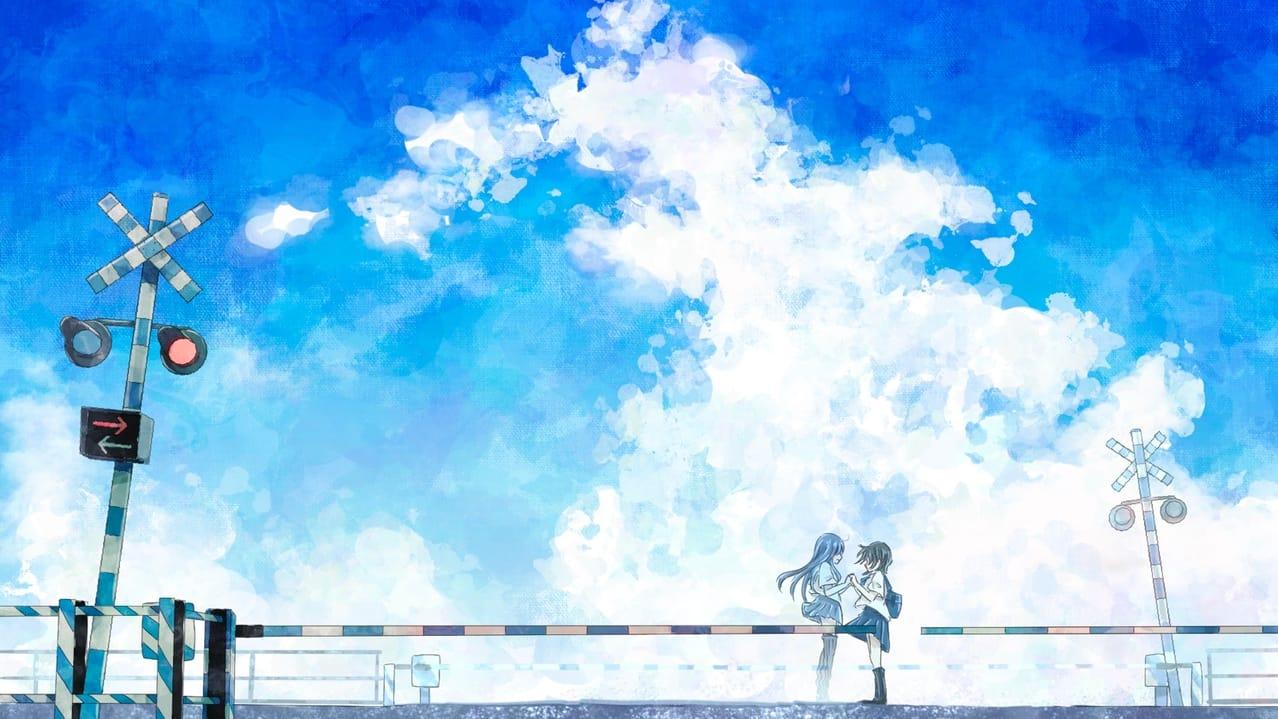 少女レイ Illust of 熊谷のの sky 女子高生 少女レイ 踏切 青空 fanart みきとP 入道雲 夏空