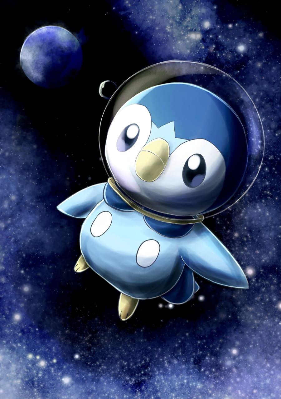 ポッチャマ Illust of 88里 ポッチャマ space ポケモンDPt pokemon
