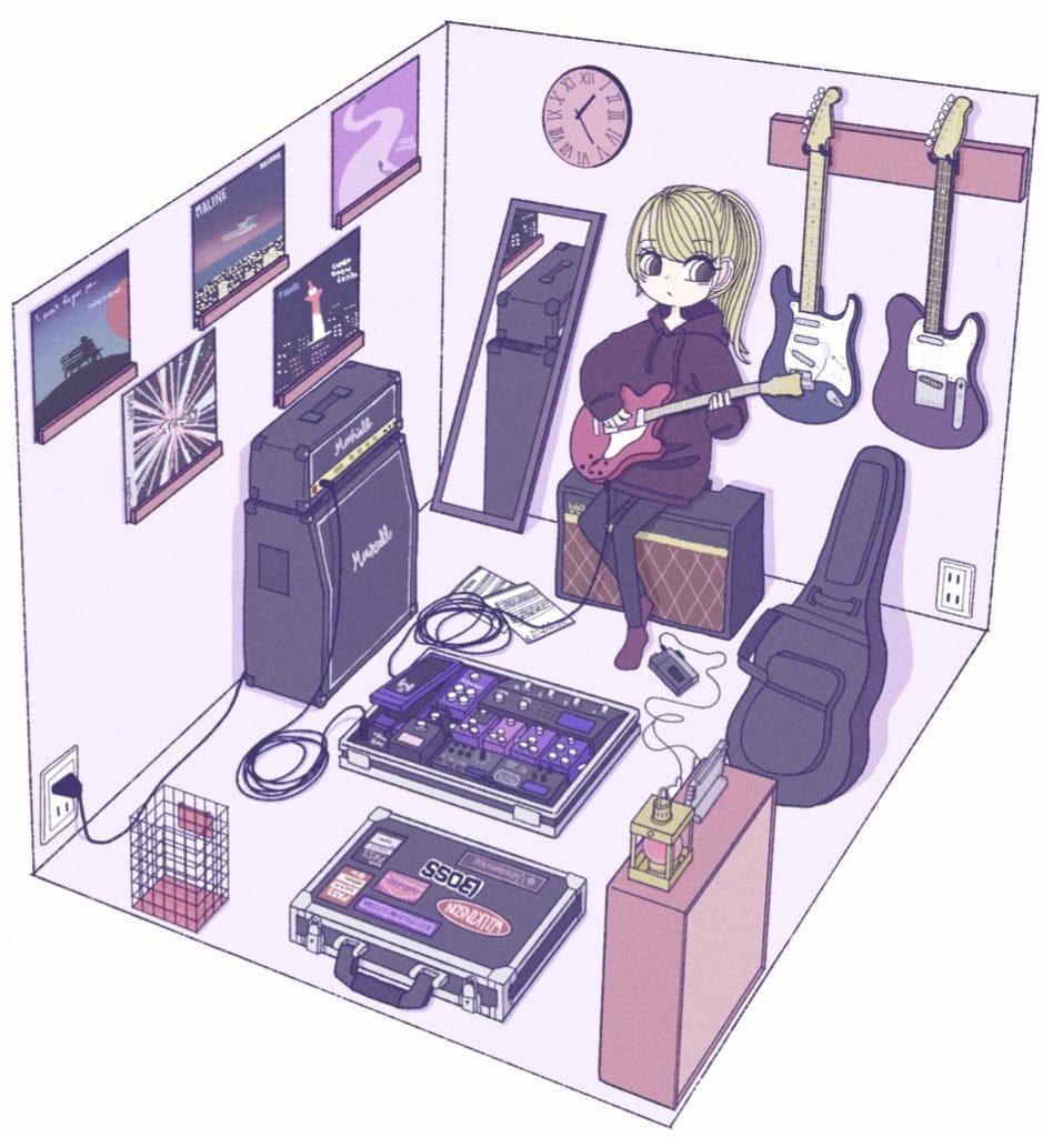 2日前 Illust of まだこ September2021_Girl ARTstreet_Ranking_Contest music illustration girl ニューレトロ original oc