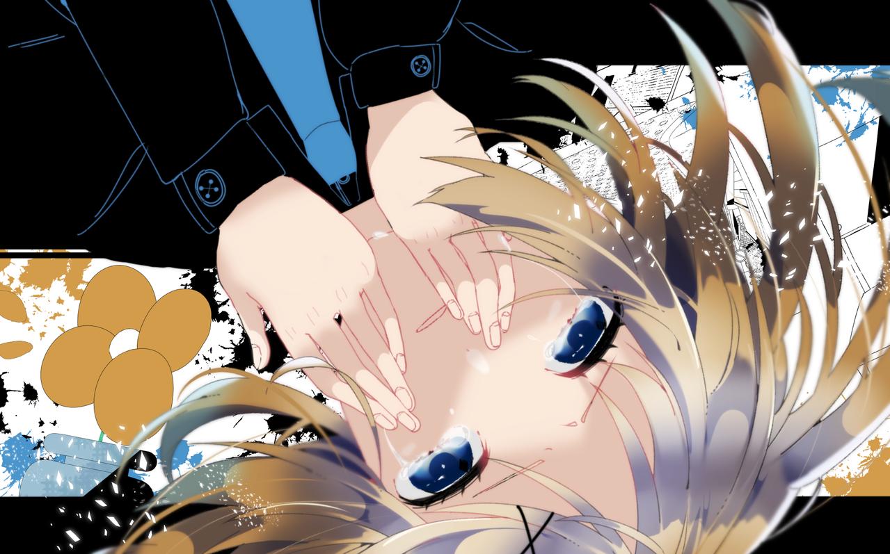 キミナシビジョン Illust of 一 medibangpaint Kagamine_Rin VOCALOID