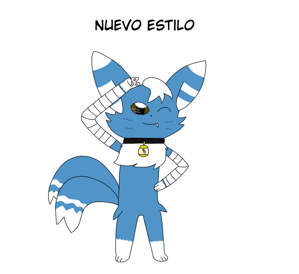 nuevo estilo para el gato mas divertido  Illust of meowstic zorrito legendario medibangpaint Meowstic Zorrito