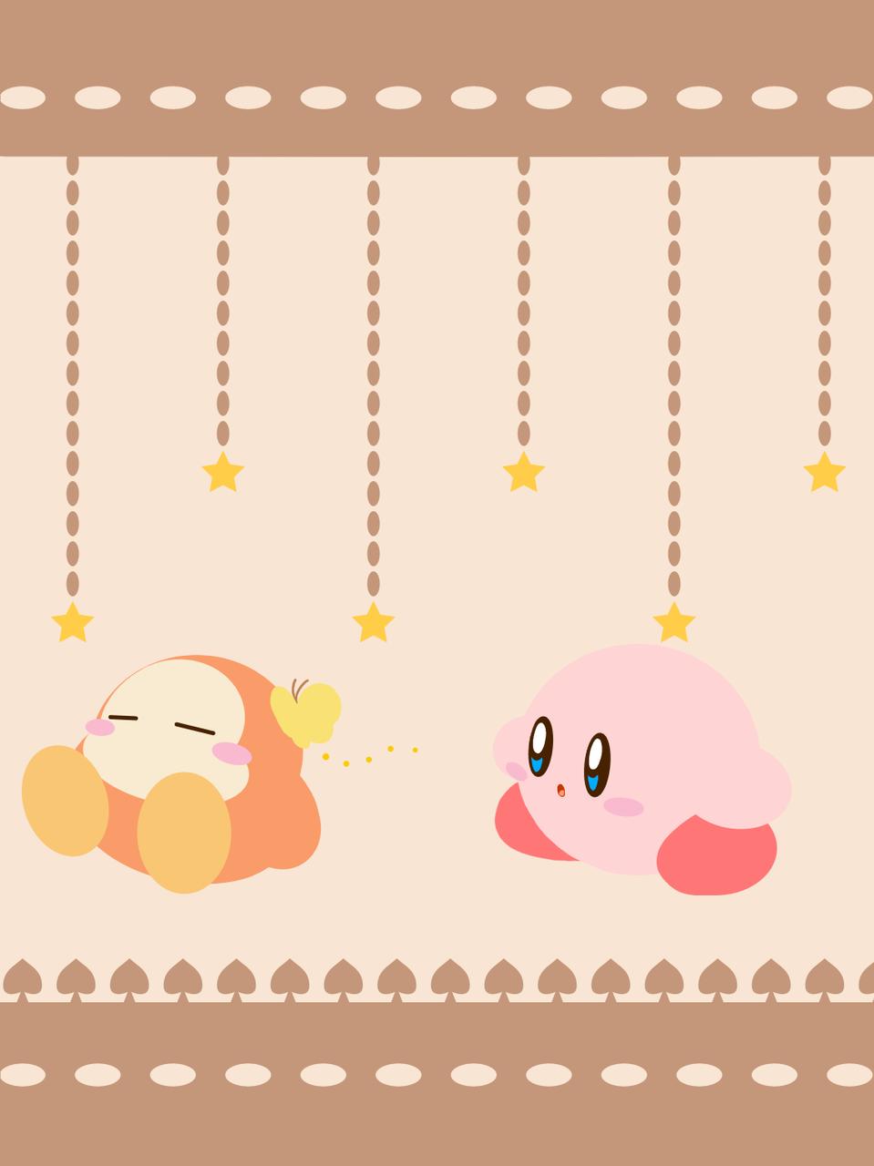 ☆ Illust of popo sky medibangpaint Kirby'sDreamLand