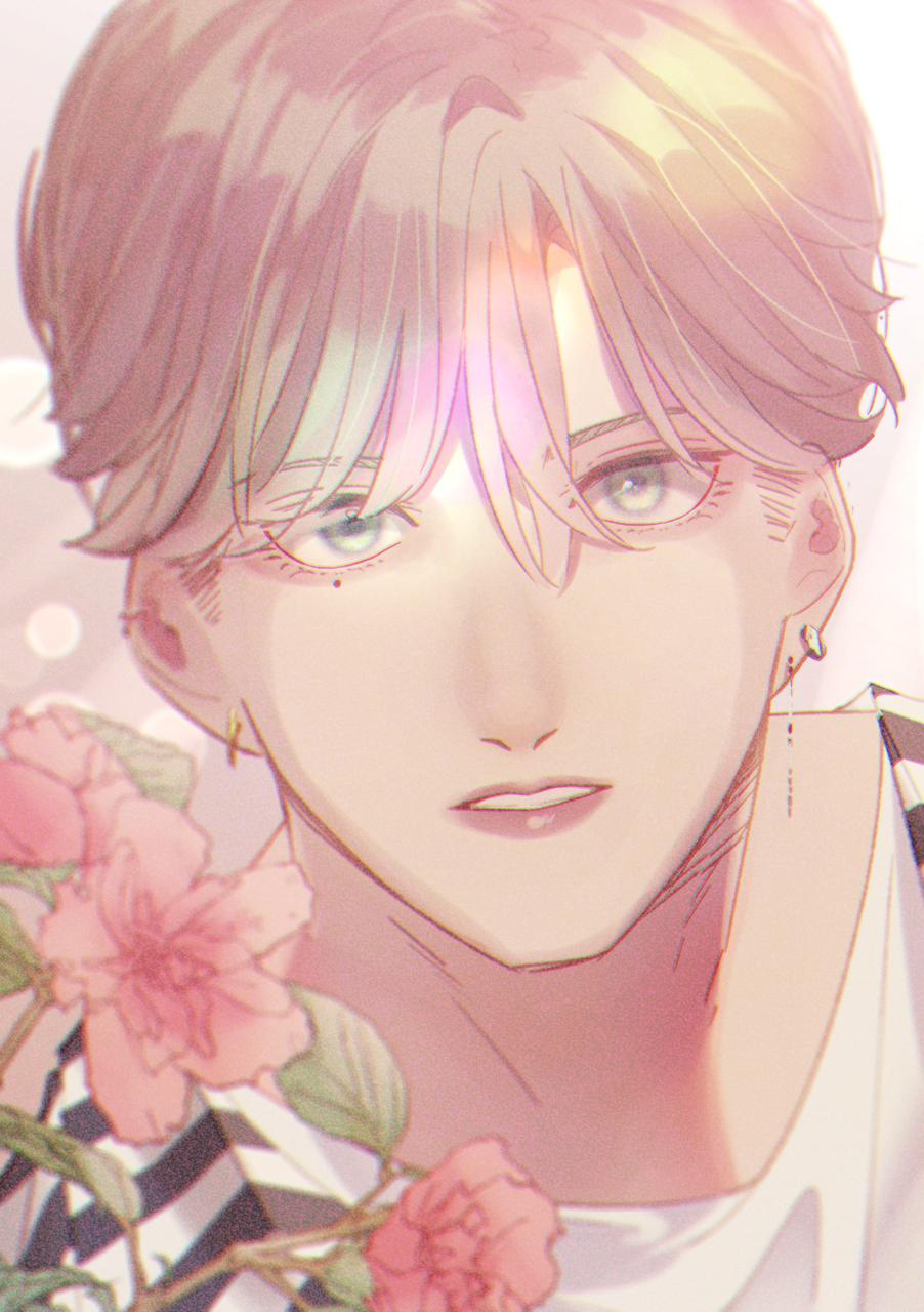 不透明度17% Illust of さちお Original_Illustration_Contest handsome 泣き黒子