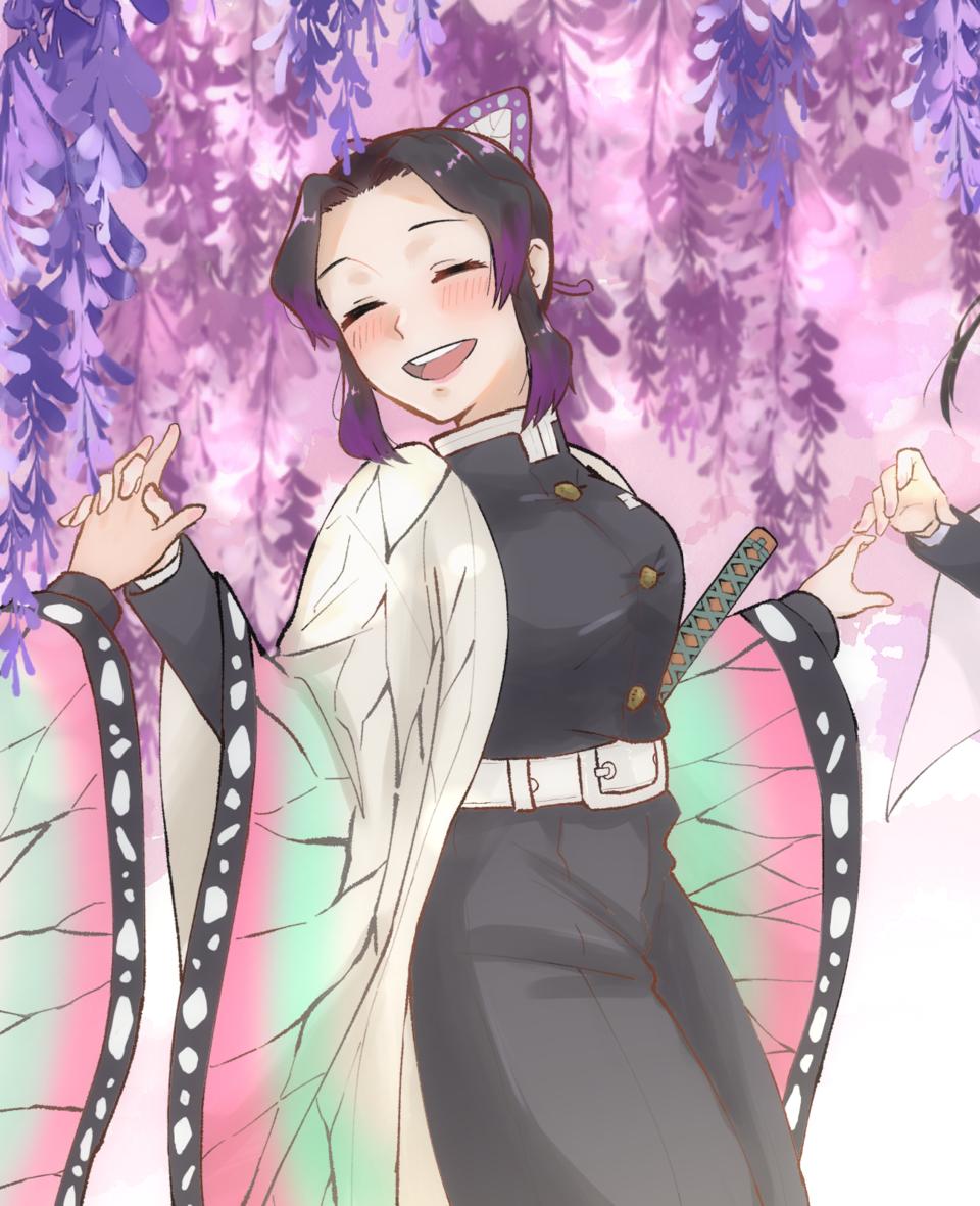 胡蝶しのぶは幸せだった Illust of きりみ DemonSlayerFanartContest