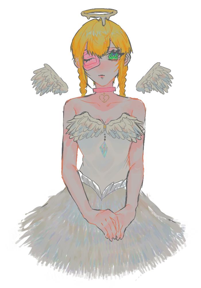 天宮電視 Illust of OHTEAOH 小5 えのきゅーり。 angel 天宮電視 girl
