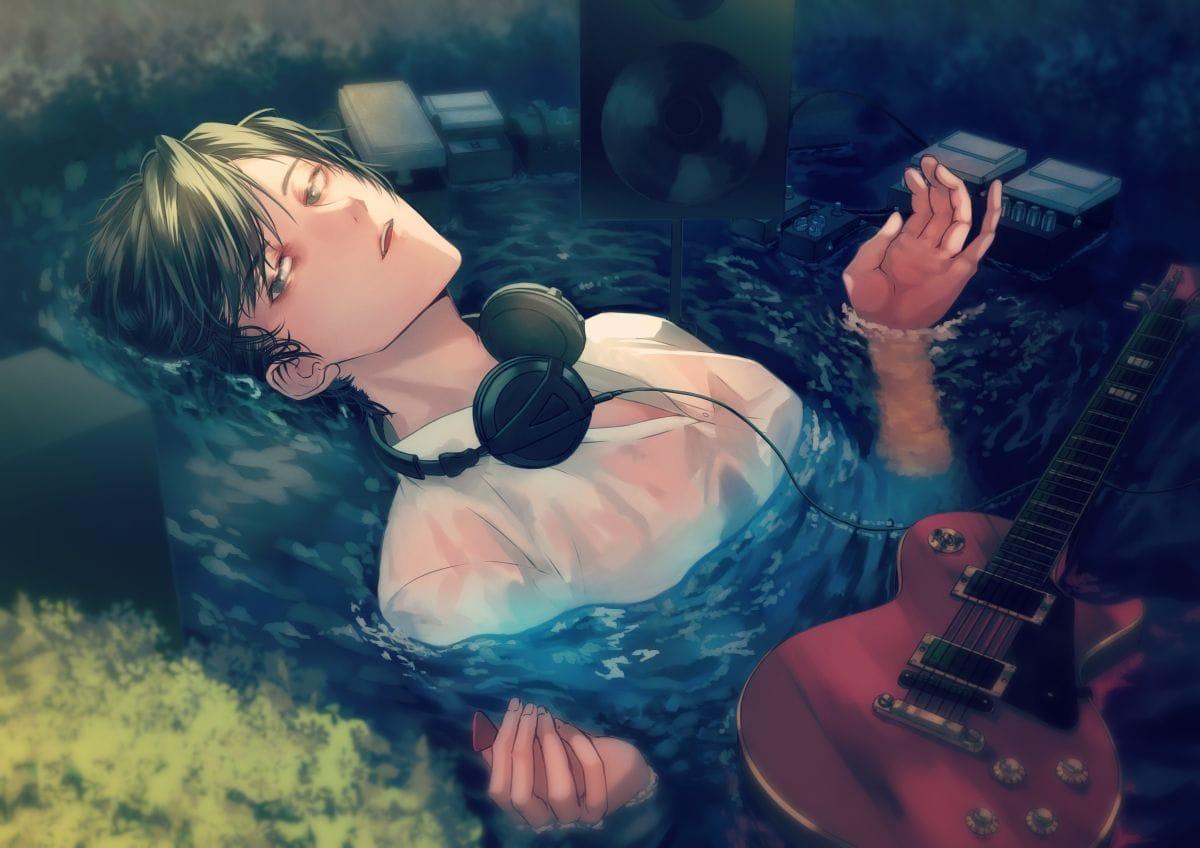 ギタリストのオフィーリア Illust of すとっぱ MasterpieceFanart