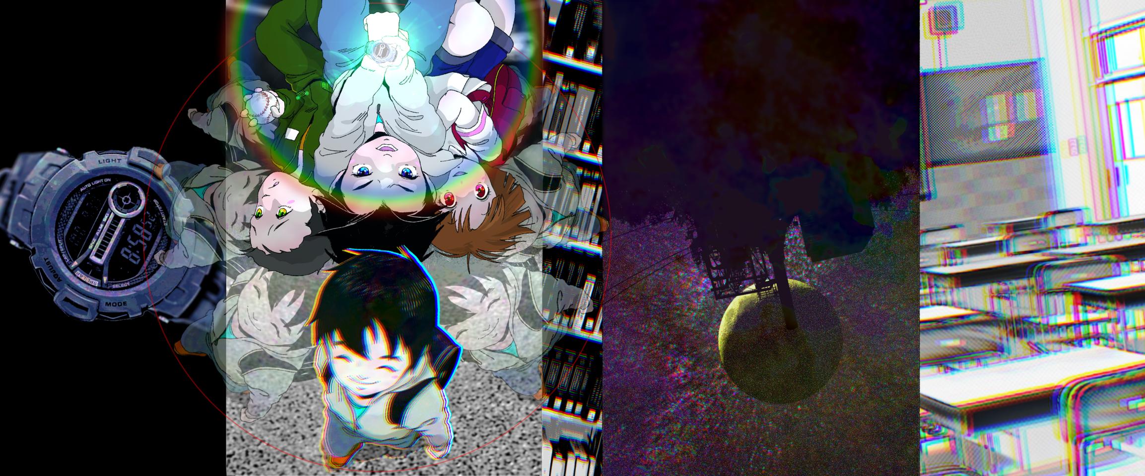 Gururito カバーイラストデザイン Illust of manma.brain Spinning_contest illustration ぐるりと design