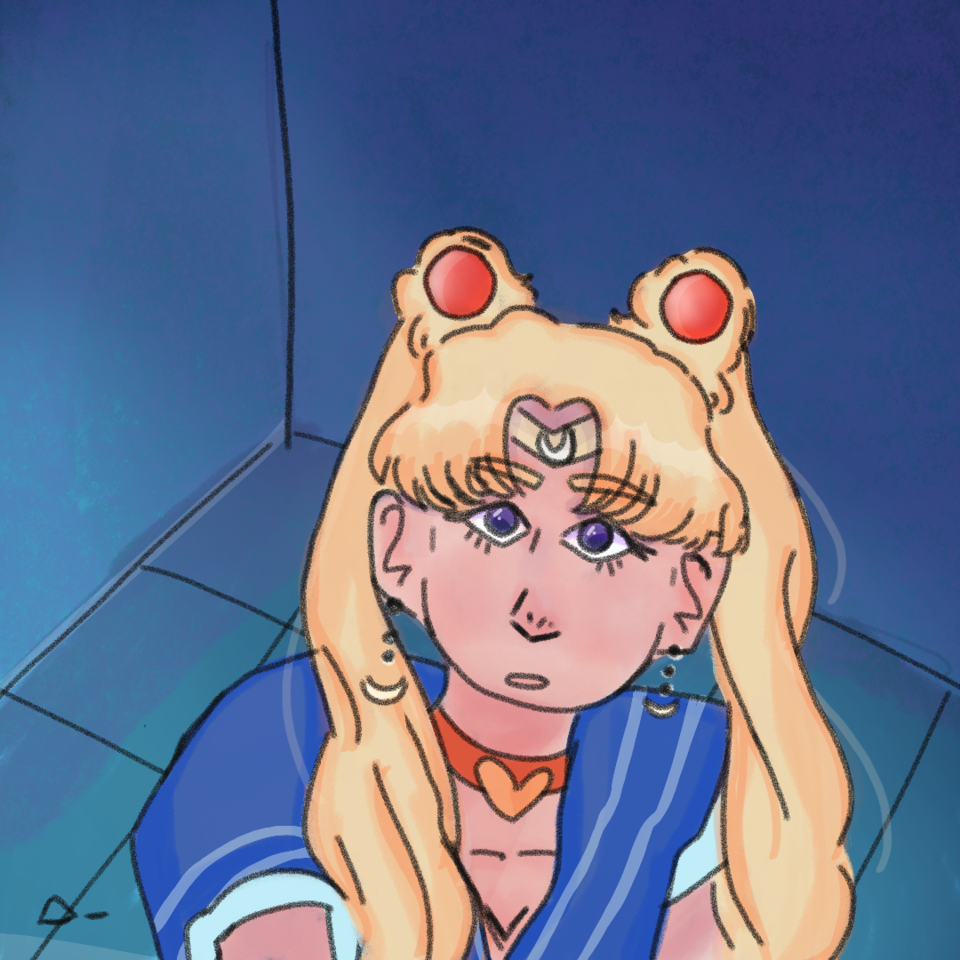 You did this for what? Illust of Azul💙._. medibangpaint sailormoonredraw