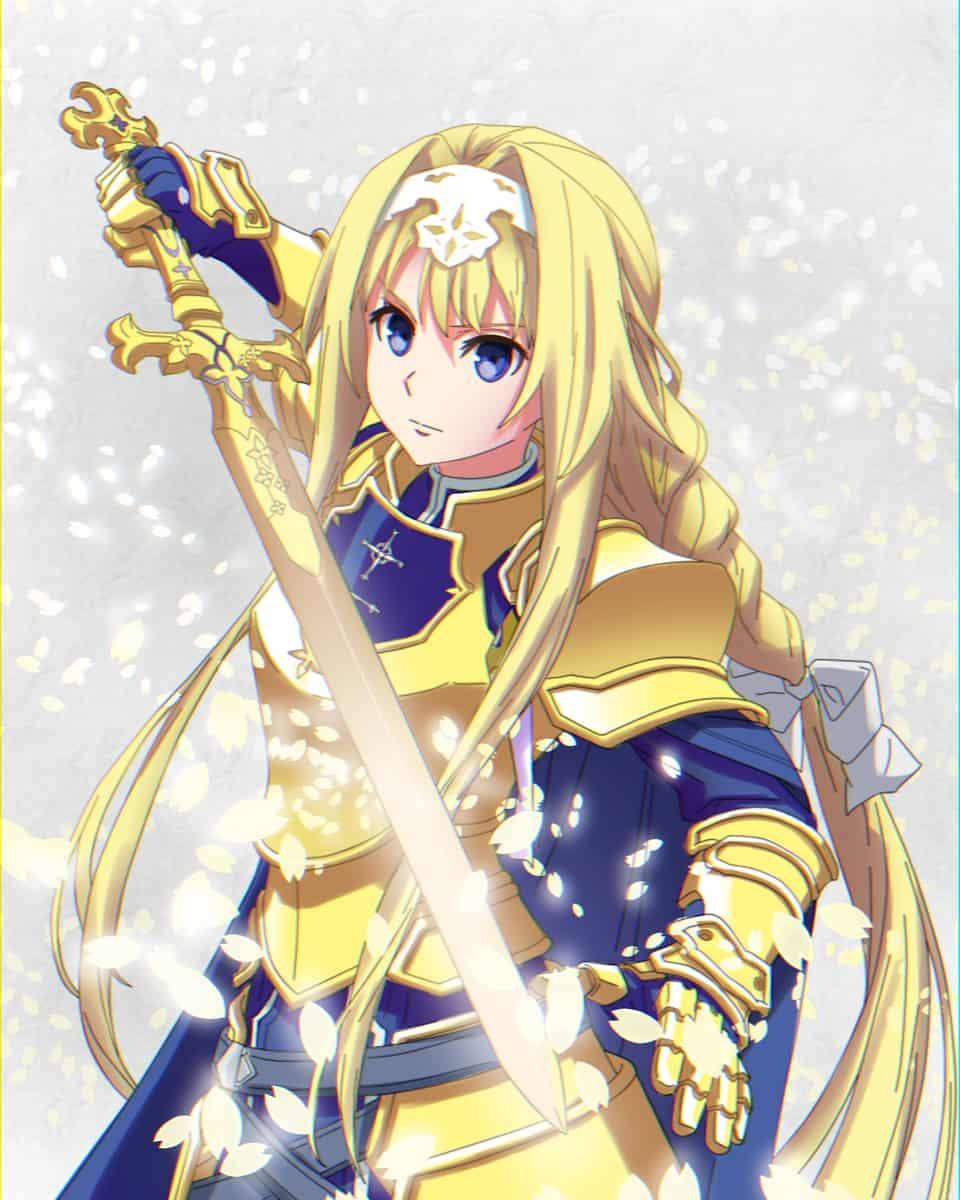 ALICE ZUBERG Illust of JohnJohn animegirl Sword_Art_Online