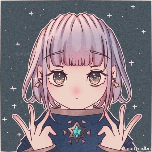 Fragile Star Illust of Marfy kawaii メルヘン きらきら girl