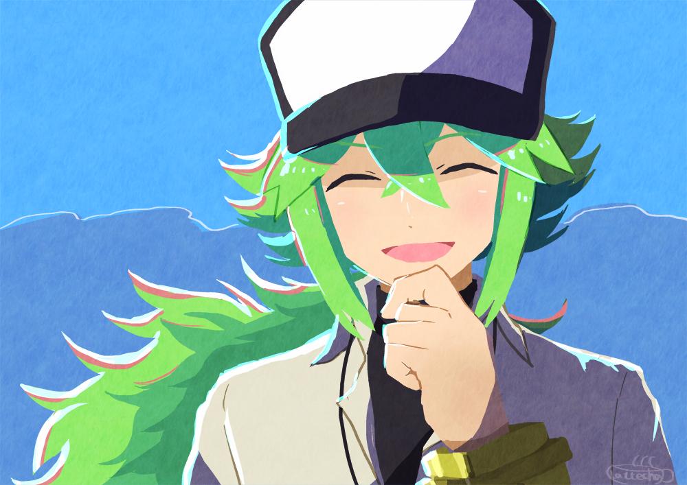 笑顔 Illust of ラテ茶 N(ポケモン) pokemon ポケモンBW