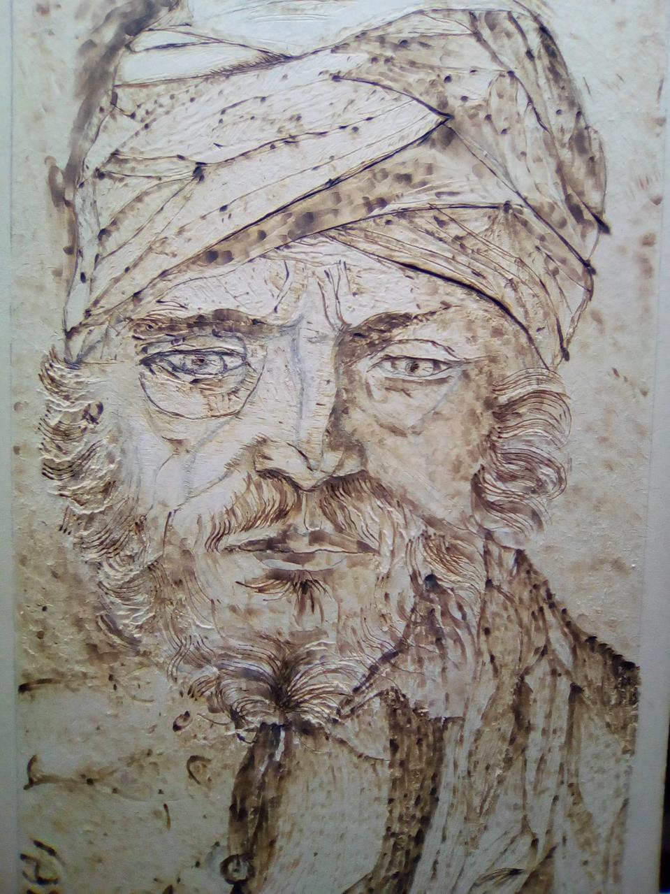Giovanni Bellini / Ritratto di uomo con turbante Illust of Grandicelli Susanna MasterpieceFanart fan fanart ritratto art