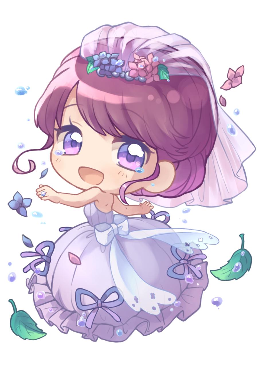 6月の花嫁 Illust of すみつ oc デフォルメ ジューンブライド girl