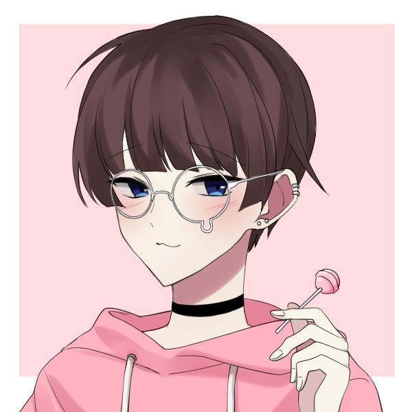 Mateo uwu Illust of Korymatsu anime uwu pink myoc oc cute art MyArt animeboy boy