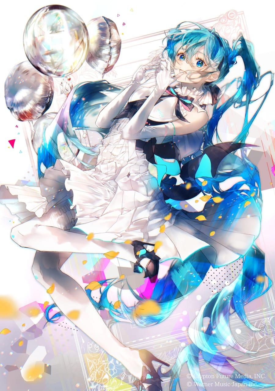 初音ミクシンフォニー2020 Illust of からながれ Miku hatsunemiku miku VOCALOID party
